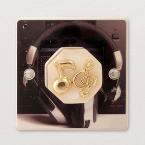 Music Room Light Switch British Made - light switches & pulls