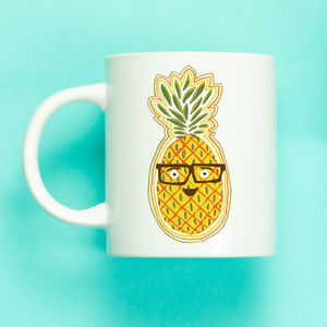 Personalised Funny Pineapple Mug