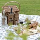 Willow Picnic Basket Set Two Person