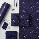Stars And Moons Wrapping Paper Set