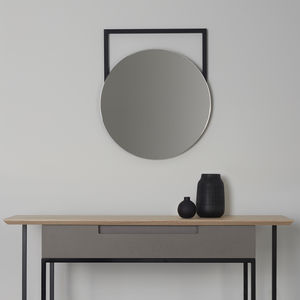 Edna Wall Hung Mirror - bedroom
