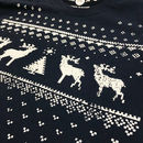 Men's Christmas Reindeer Long Sleeved Tshirt