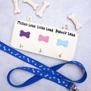 Personalised Handmade Three Dog Lead Hanger/Holder
