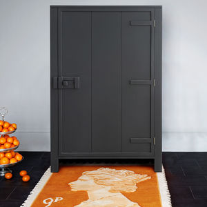 Mango Wood Cabinet In Grey, Green Or Taupe