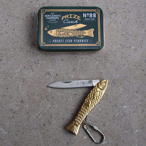 Personalised Fishing Penknife - whatsnew