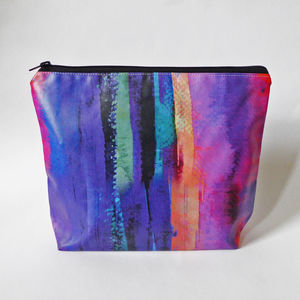 Cotton Waterproof Toiletry Bag