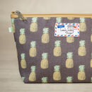 Pineapple Fruity Pineapples Gift Makeup Cosmetic Bag