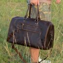 Eazo Vintage Double Front Zip Holdall Gift For Father