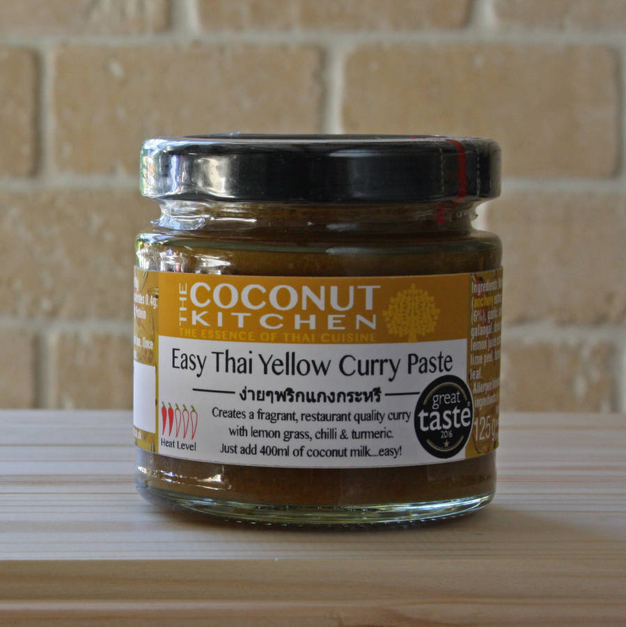 homepage the coconut kitchen easy thai yellow curry paste