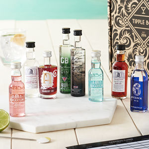 Great British Gin Tasting Set - birthday gifts