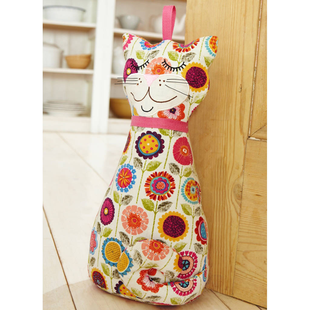 Cat door stop by ulster weavers for Door stop idea