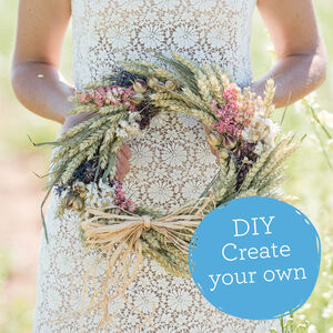 Create Your Own Dried Flower Wreath