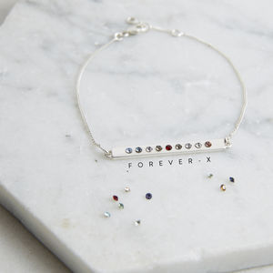 Secret Message Bracelet Sterling Silver - jewellery