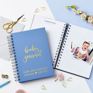 Personalised Baby Journal - our top new picks