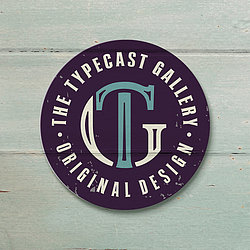 The Typecast Gallery logo