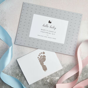 Baby's Hand And Footprint Kit