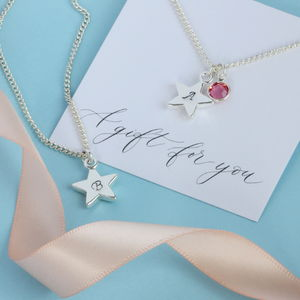 Personalised Star Charm Necklace - personalised jewellery