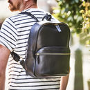 Leather Backpack Vida Luxe Range