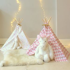 Mini Wigwam For Dolls And Soft Toys - traditional toys & games