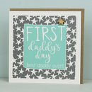 First Daddy's Day Card
