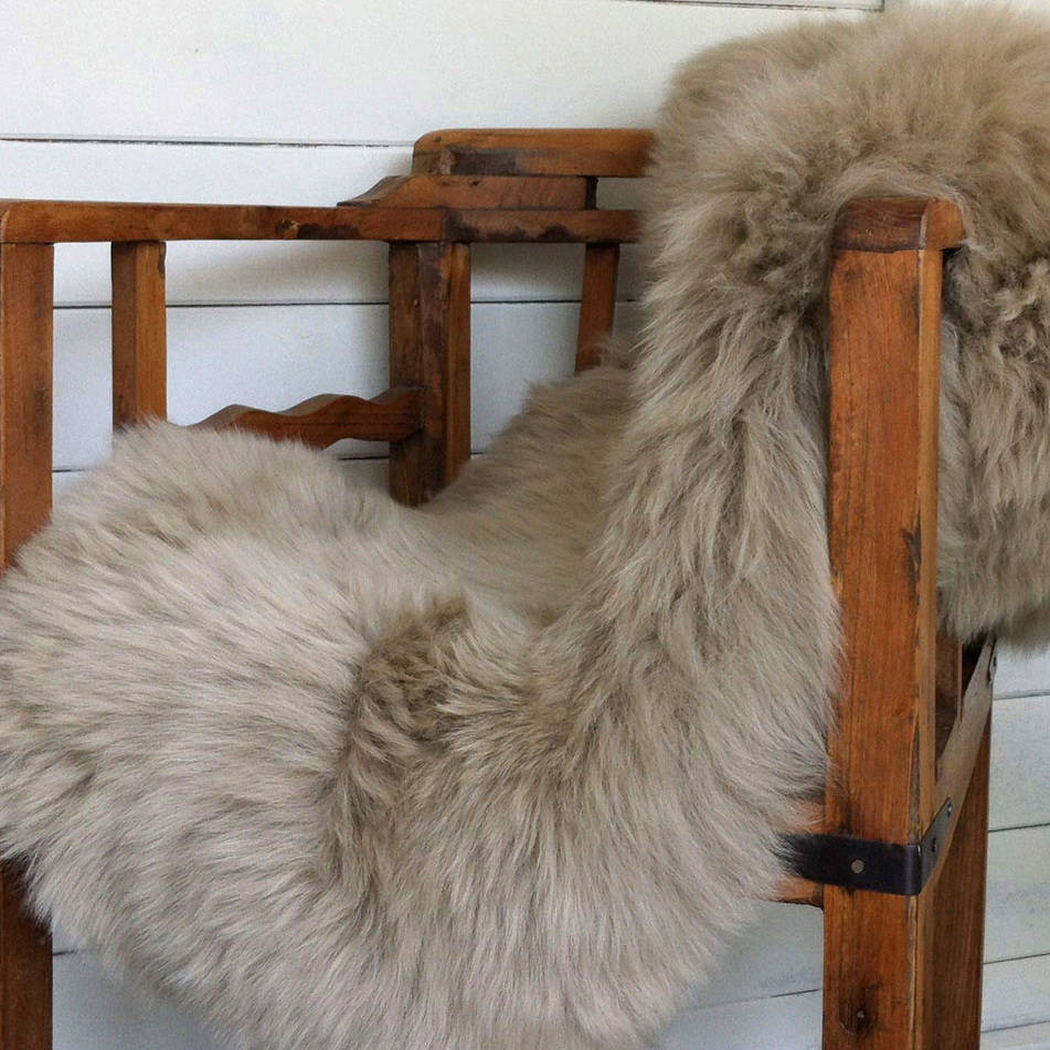 Sheepskin Rug Assorted Colours By Idyll Home