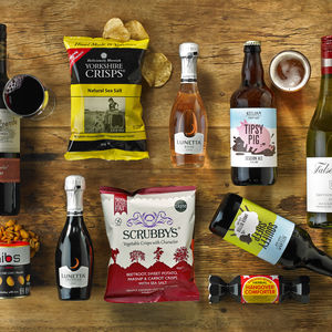 Couples Boozy Night In For Two Box - food gifts