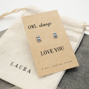 Owl Earrings - earrings