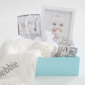 Personalised Christening Set - traditional christening gifts