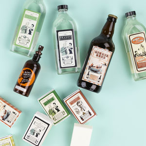 Alcohol Scented Toiletries - hen party gifts & styling
