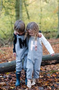 Personalised Initial Dungarees - trousers & leggings