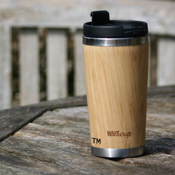 Reusable Sustainable Bamboo Coffee Cup