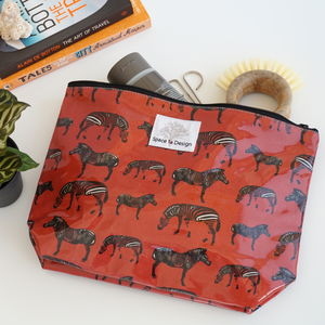 Zebra March Wash Bag - health & beauty