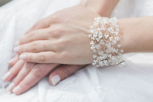 Novia Pearl And Crystal Bracelet