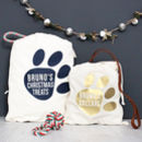 Personalised Pet Christmas Gift Sack