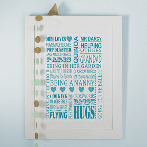 Mum Loves Print - view all mother's day gifts