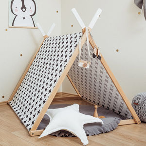 Black Cross Playhouse Set - tents, dens & teepees