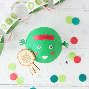 Christmas Peel The Sprout Table Game - decoration