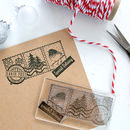Santa Post Special Delivery Stamp