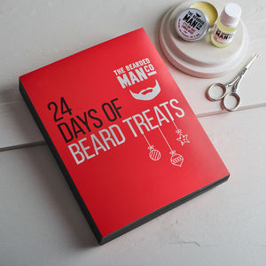 Christmas Beard Oil Advent Calendar - advent calendars