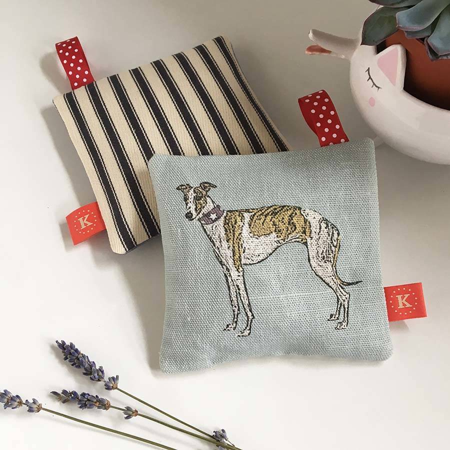 Whippet And Greyhound Lavender Bags