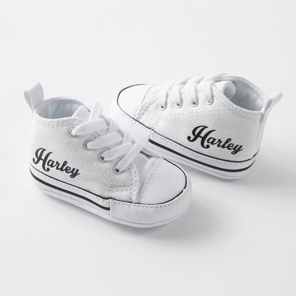 68456aacba24 baby converse sneakers personalised by yeah boo
