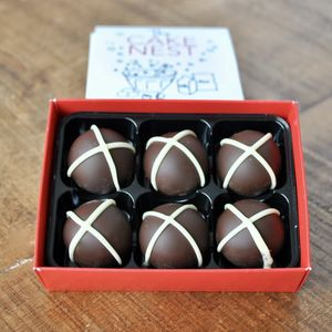 Hot Cross Bun Truffles - cakes & sweet treats