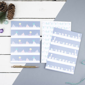 Scandi Style Notebook Set