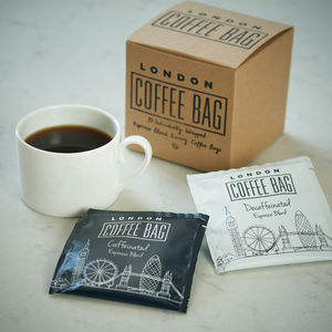 Coffee Bag 10 Sachet Gift Box - coffee lover