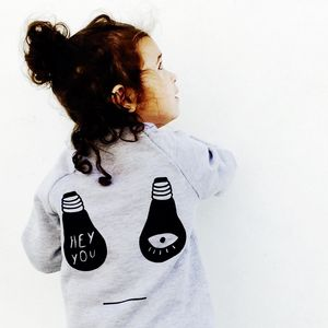 Moody Monster Face Sweatshirt - gifts for children