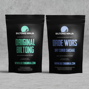 Handcrafted Biltong And Droewors Combo - food & drink