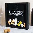 Personalised Wine Cork Collection Box