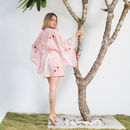 Bailey Kimono In Pink Sand