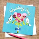 Dove Wedding Card