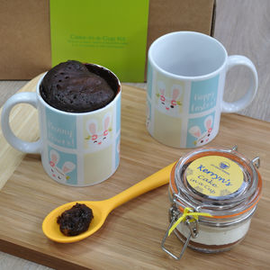 Bunny Power! Happy Easter Chocolate Mug Cake Kit